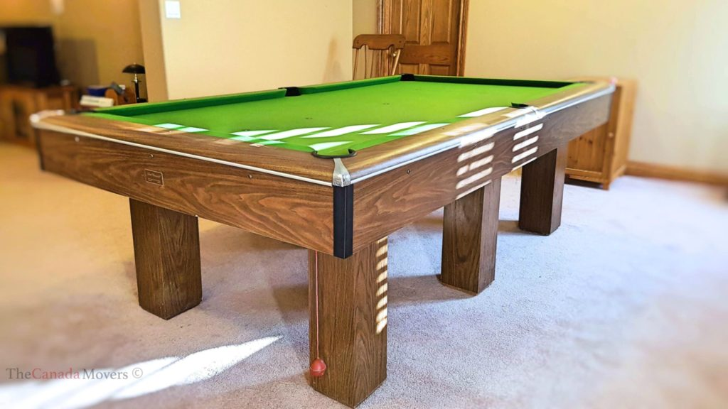 pool b diamond movers tables professional size used oak table