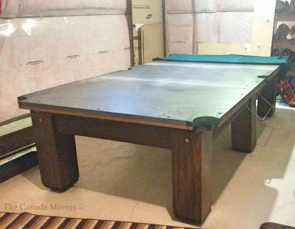 table size brampton pooltable toronto london movers moving ajax pool barrie hamilton